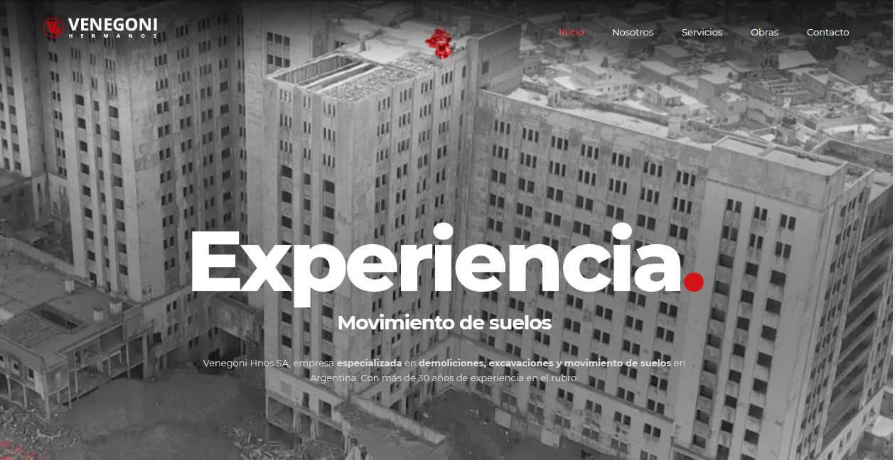 Nueva Web Venegoni